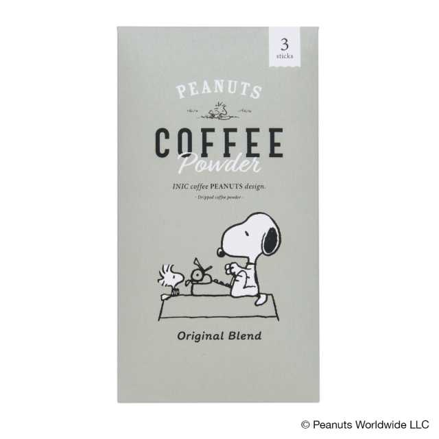 PEANUTS coffee 3P OR+DC