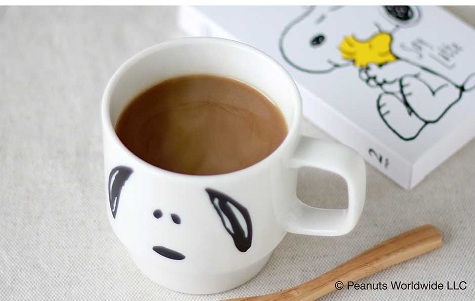 PEANUTS coffee 3P OR+ソイラテ